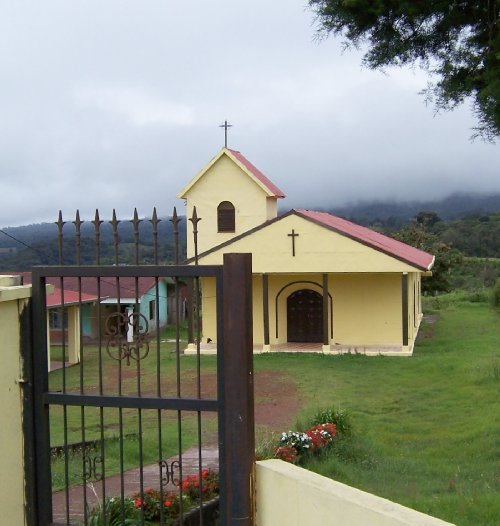 Coffee Country Church with Cooling Clouds©